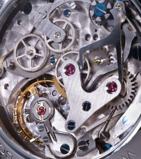 Mercure watch mechanism