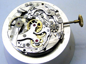 Montano watch mechanism