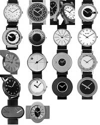 The watch collection manufactured by  Pierre and Danuta Junod
