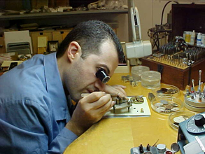 Zixen watch assembly