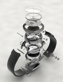 Reconvilier watch mechanism