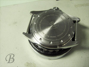 Boshett watch backside
