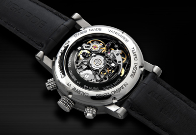 Tempo théorie watch backside