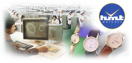 HMT watch production