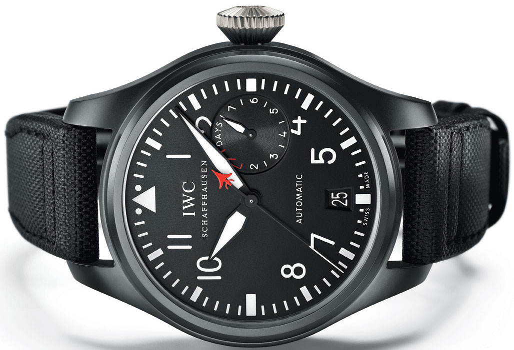 Big Pilot's Watch TOP GUN (Ref. IW501901) by IWC at the ...