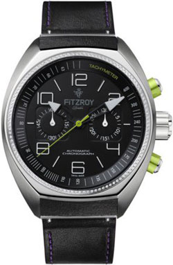 Fitzroy Diamond Steel Automatic Chronograph