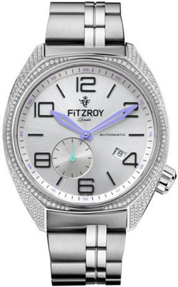 Fitzroy Original Diamond Steel Automatic F-S-SDP-S5S1