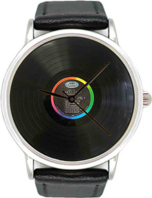 Miusli Vinyl watch