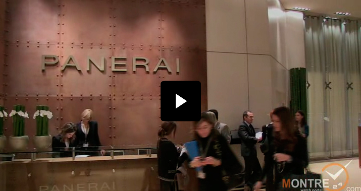 Exclusive video of new models by Officine Panerai at SIHH 2012