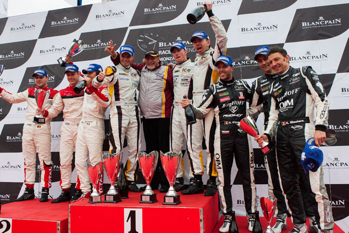 winners of Blancpain Race Weekends