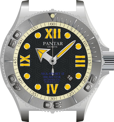 Pantar watch prototype