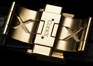 CodeX watch clasp
