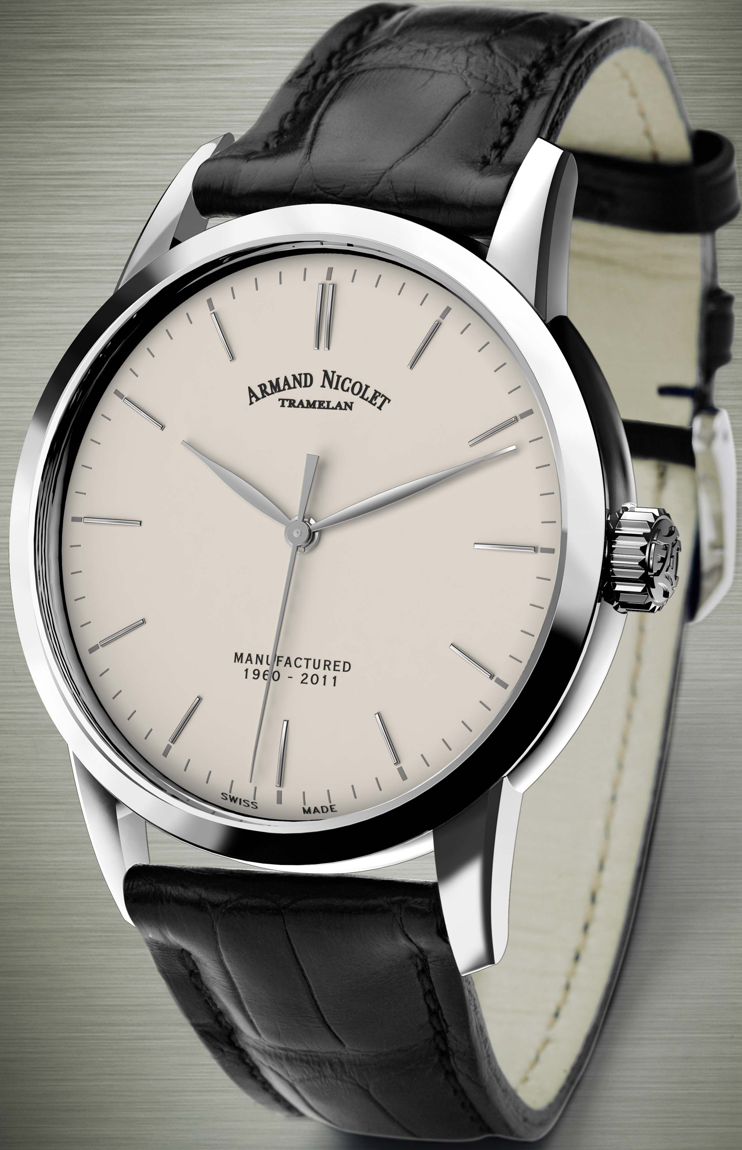 Limited watches of armand nicolet at baselworld 2012 for Armand nicolet watches