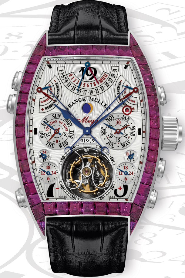 a6fb0b3eae4 Aeternitas Mega 4 - perfect creation of Franck Muller