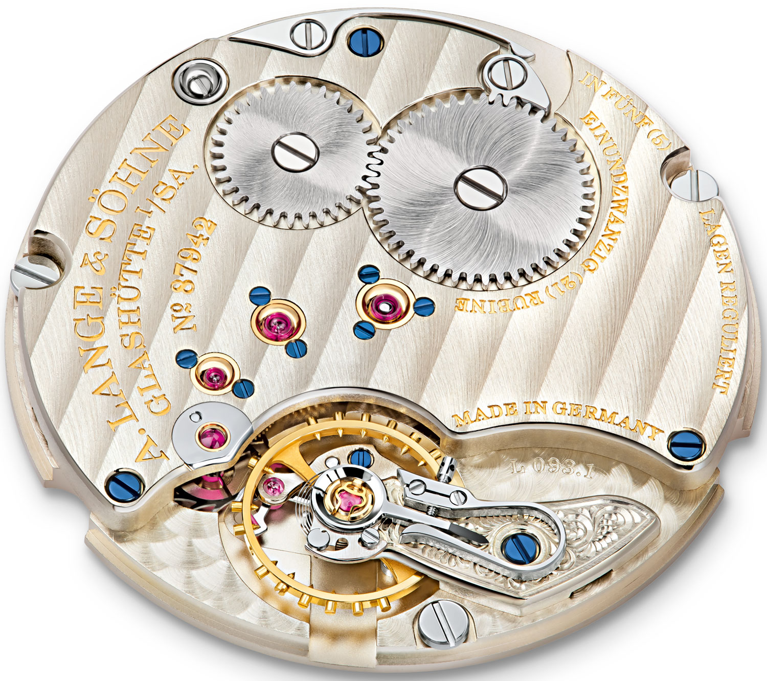 The Thinnest Watch by A  Lange & Söhne at SIHH 2012