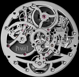 manufactory skeletonized movement Piaget 1200S