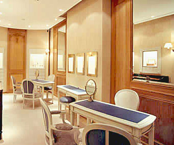 In Vienna the Breguet boutique is renovated