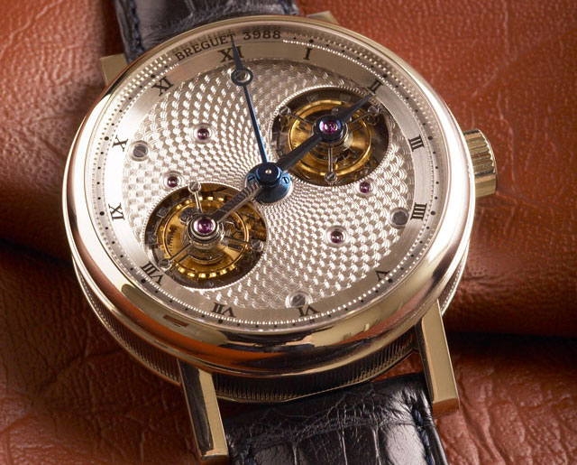 Breguet Double Tourbillon (ref. 5347PT/11/9ZU)