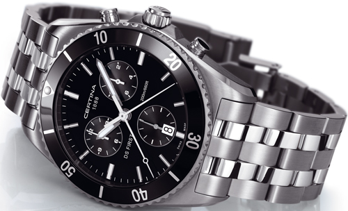 DS First Chronograph (Ref: C014.417.11.051.00)