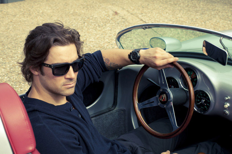 CJ Wilson is wearing Chronofighter Oversize Diver Watch by Graham