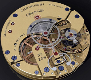 Chronoswiss watch mechanism