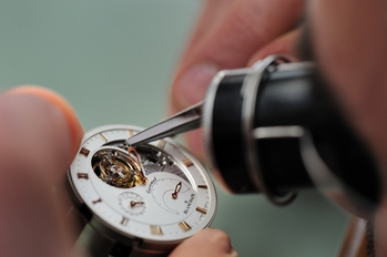 equipping of watch Blancpain