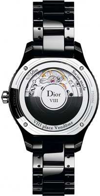 Dior VIII Automatic (Ref: CD1245E2C001) watch backside