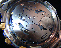 Spectrum watch backside