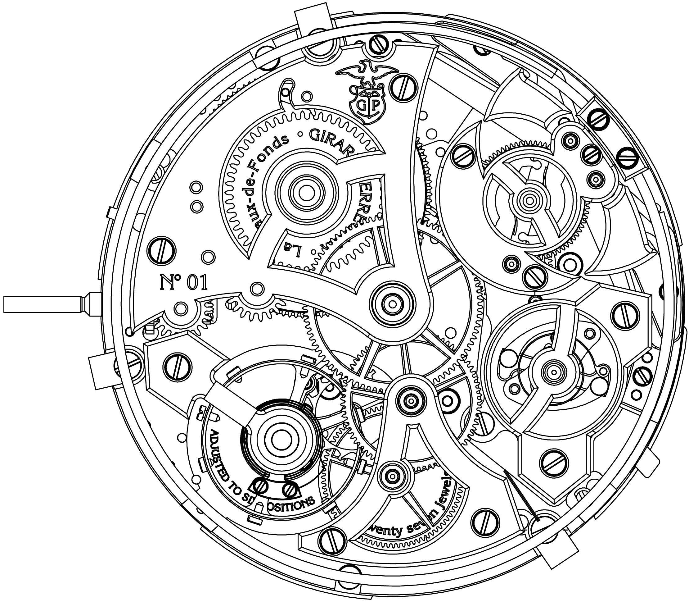 Clock Maintenance Repair additionally Picture of a sewing machine and the parts of the machine together with Hermle Ravensburg Mechanical Skeleton Wall Clock 70974 000711 in addition Exploded View Carburetor Chevrolet 5 7 likewise B0bc45f00f5a4efe82680d68fe7b485c. on antique gear box