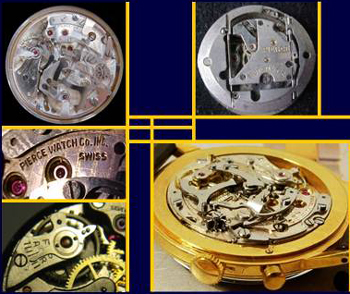Pierce 1883 watch mechanisms