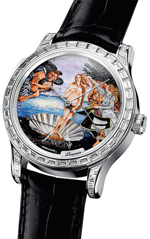 "Jaeger-LeCoultre Master Minute Repeater Venus ""The birth of Venus"" by Sandro Botticelli"