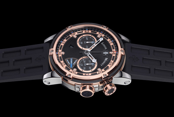 new watch louis moinet jules verne instrument iii. Black Bedroom Furniture Sets. Home Design Ideas