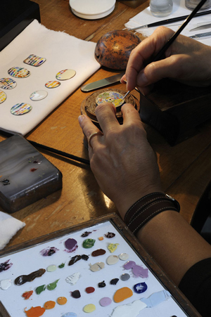 Metiers d'Art Chagall & l'Opera de Paris watch creating