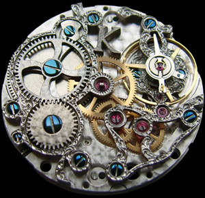 Kudoke watch mechanism