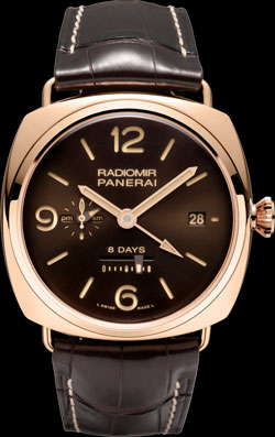 Radiomir 8 days GMT Oro Rosso Special Edition (Ref: PAM00395)