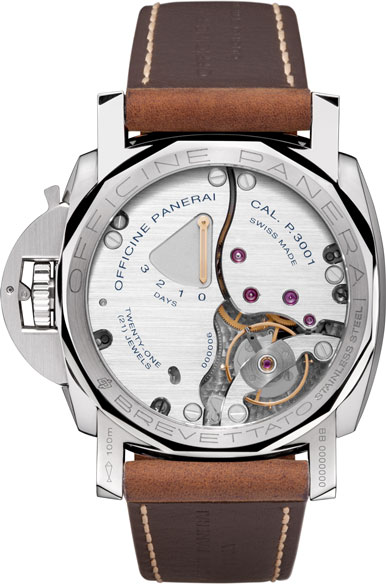 Luminor Marina 1950 3 Days (Ref: РАМ00422) watch backside