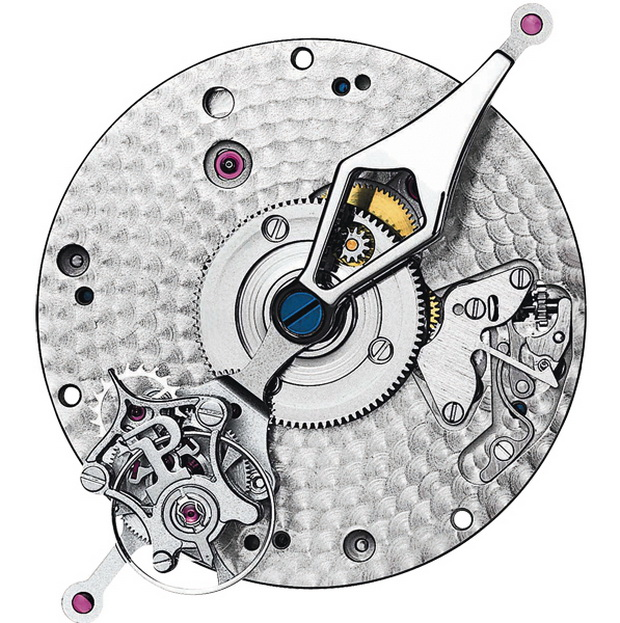 Tourbillon Relatif New York watch mechanism