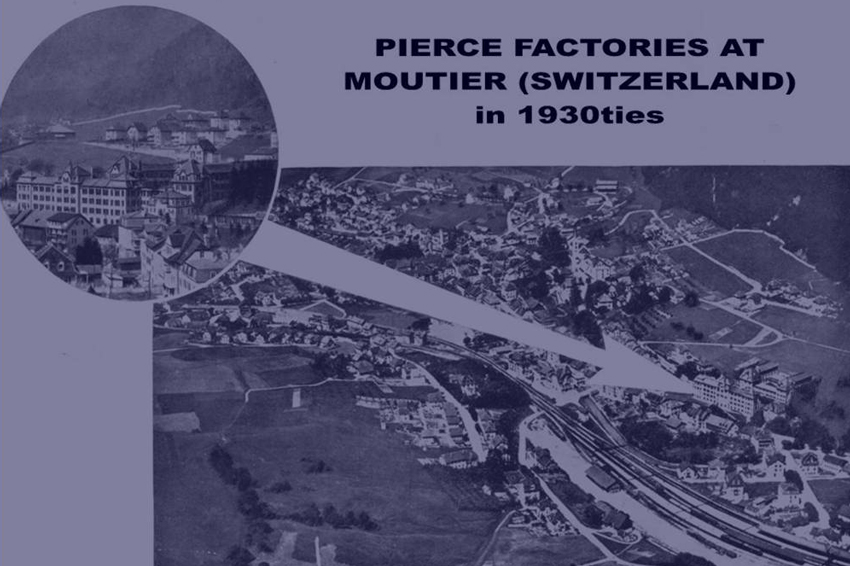 Pierce 1883 manufactory