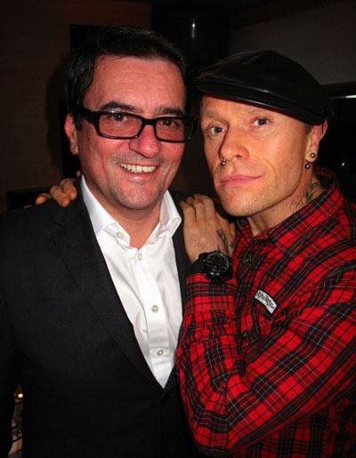 Eric Loth and Keith Flint