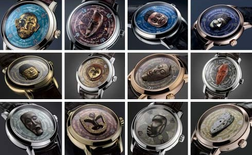 Les Masques watches by Vacheron Constantin