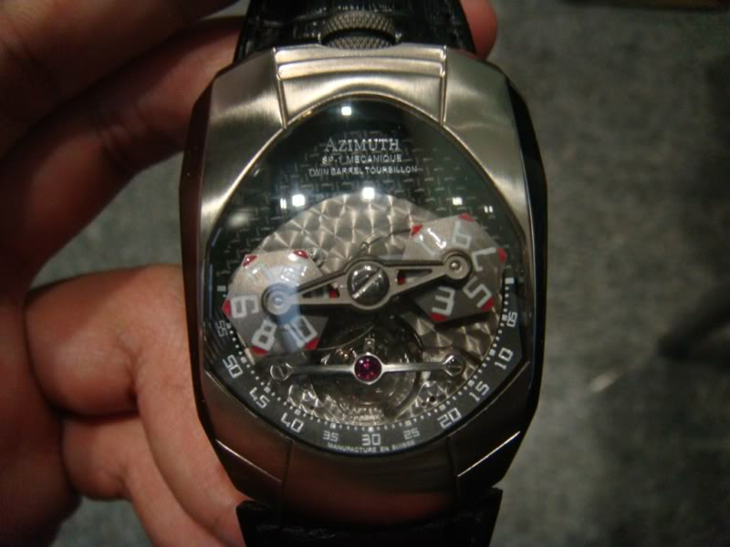 Twin Barrel Tourbillon