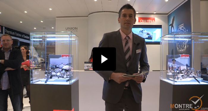 exclusive video of Certina at BaselWorld 2012
