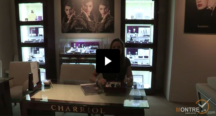 Charriol watches presentation at BaselWorld 2012