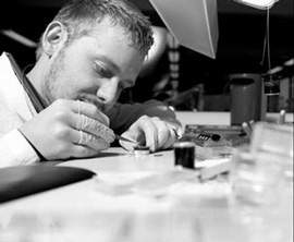 Ateliers deMonaco watch assembling