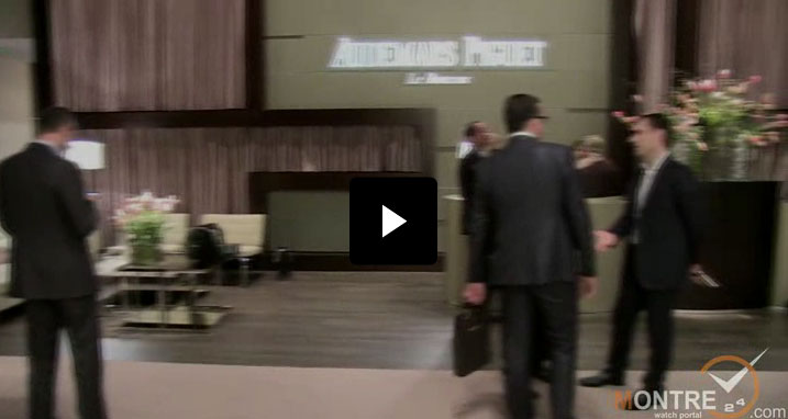 exclusive video of new models by Audemars Piguet at SIHH 2012