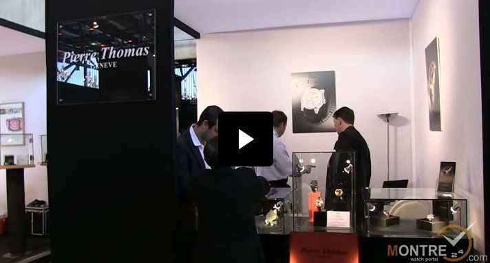 Exclusive video of watch models by Pierre Thomas at GTE 2012