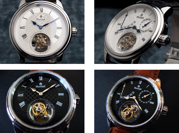 MontieK watches with tourbillon