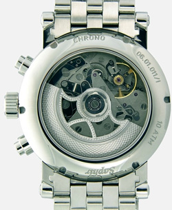 Churpfalzische UhrenManufactur watch backside