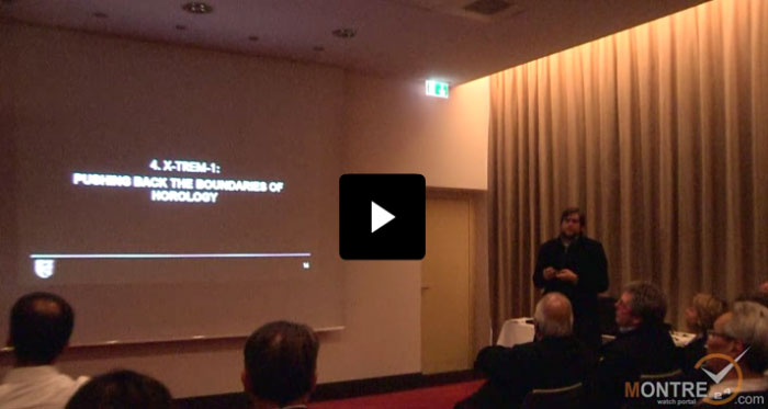 Christophe Claret company press conference at BaselWorld 2012