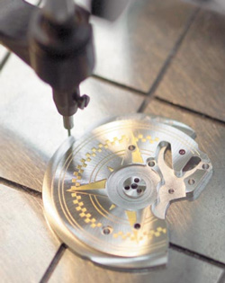 Ebel watch detail creating